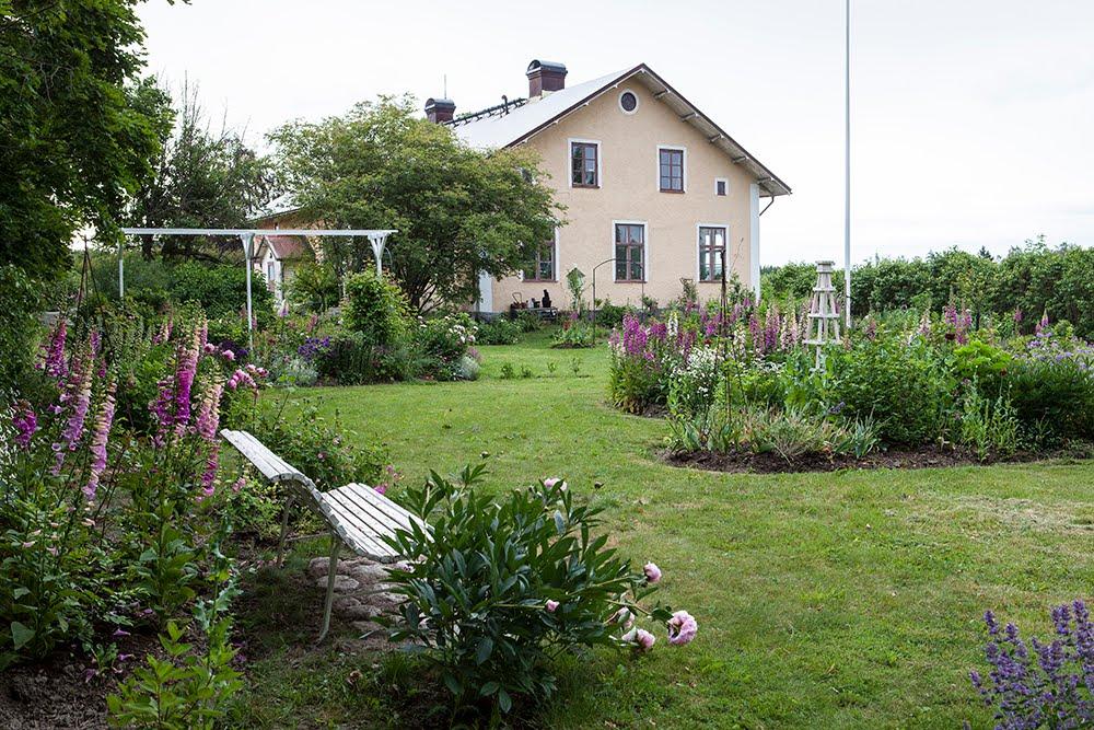 Trädgård och inredningsträff hos mig i Enköping